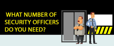 number of security guards