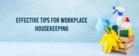 effective house keeping tips