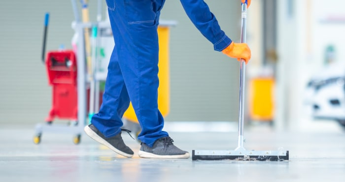 FLOOR CLEANING - Stalwart Group